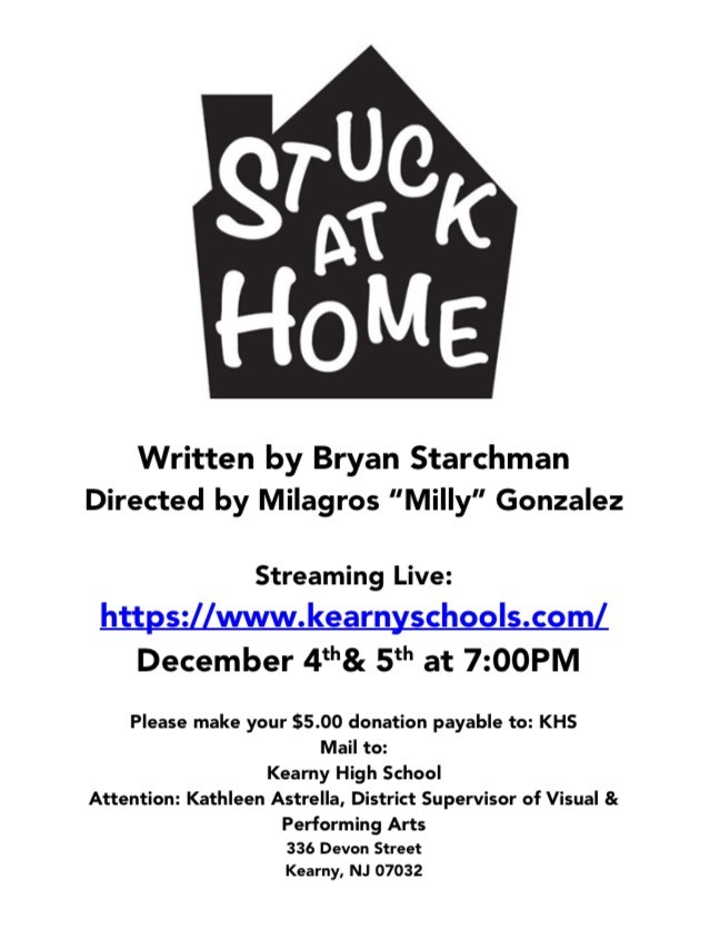 """Check Out The Senior Play, """"Stuck At Home!"""""""