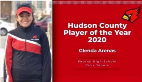 Hudson County Player of the Year - Glenda Arenas