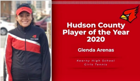Hudson County Player of the Year - Glenda Arenas